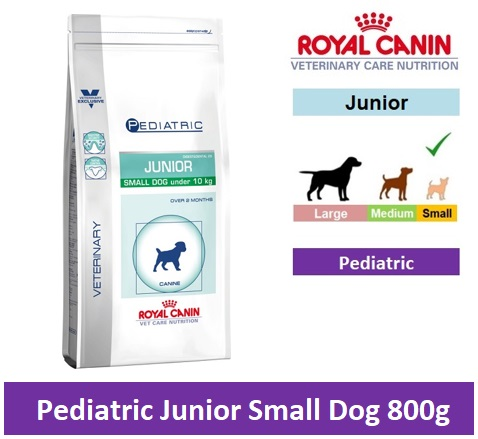 Royal Canin Veterinary Care Nutrition Pediatric Junior Small Dog 800g Image