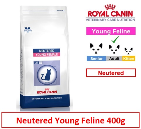 Royal Canin Veterinary Care Nutrition Neutered Young Female Cat 400g Image