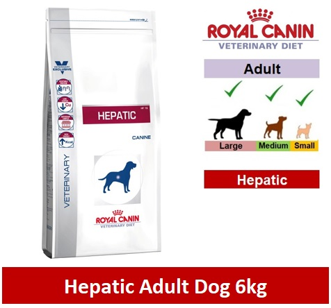 Royal Canin Veterinary Diet Hepatic Dog 6kg Image