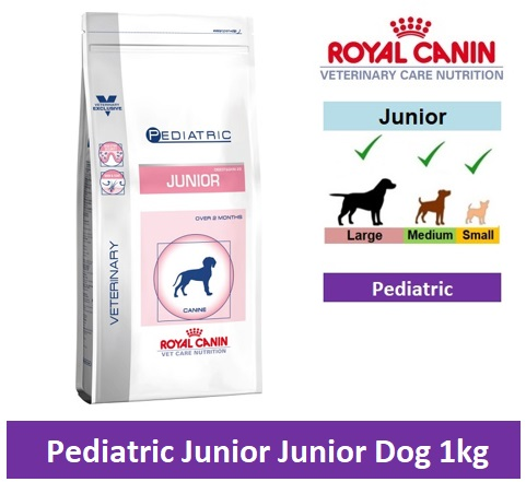 Royal Canin Veterinary Care Nutrition Pediatric Junior 1kg Image