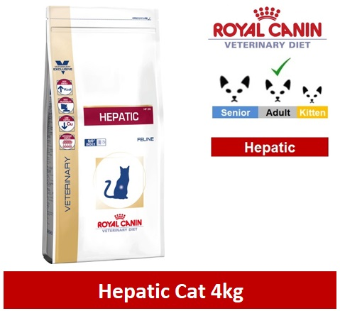 Royal Canin Veterinary Diet Hepatic Cat 4kg Image