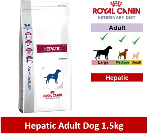 Royal Canin Veterinary Diet Hepatic Dog 1.5kg Image