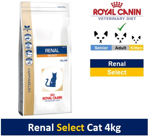 Royal Canin Veterinary Diet Renal Select Cat 4kg Image