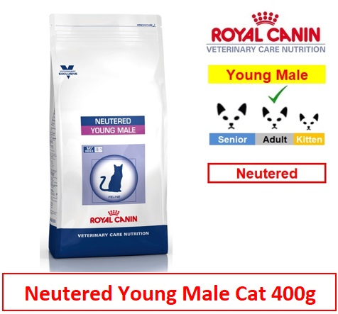 Royal Canin Veterinary Care Nutrition Neutered Young Male Cat 1.5kg Image