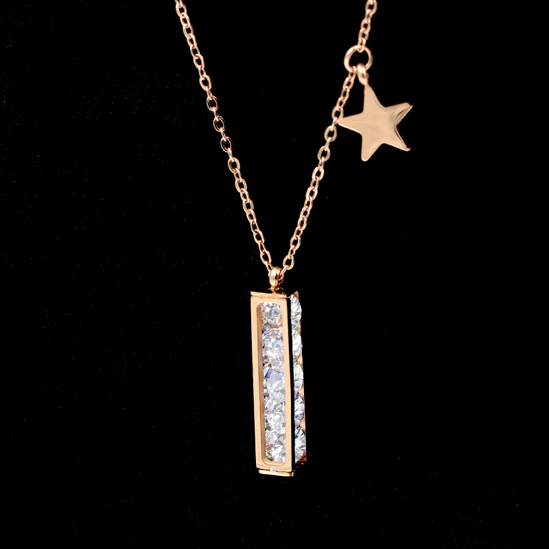 Rosegold  Star Necklace Image