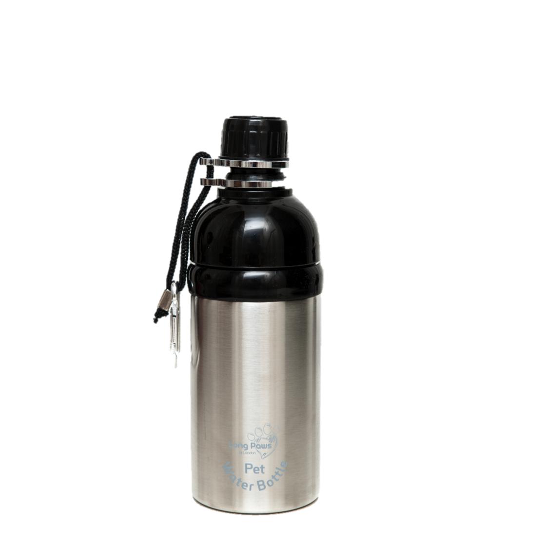 Pet Water Bottle  (500ml) Silver.Medium. Image