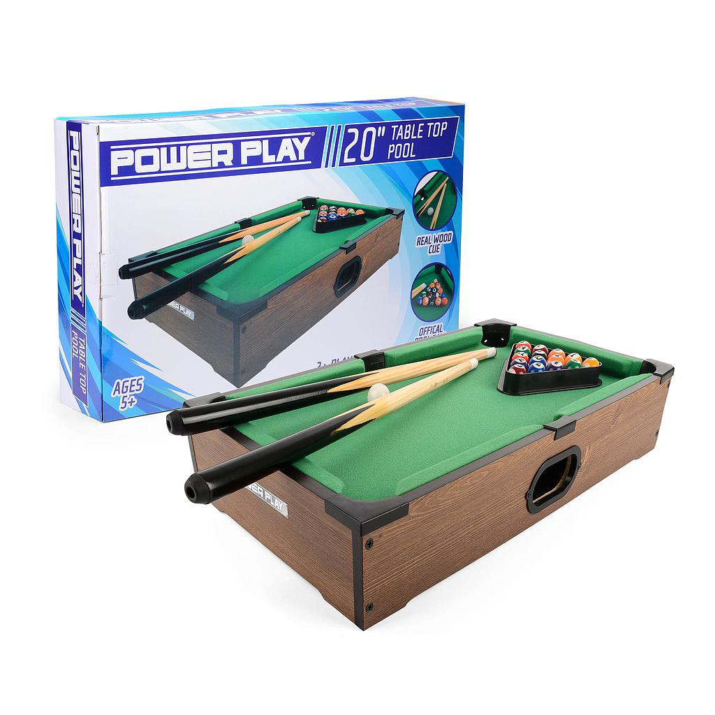 "Power Play 20"" Pool Table Game Image"