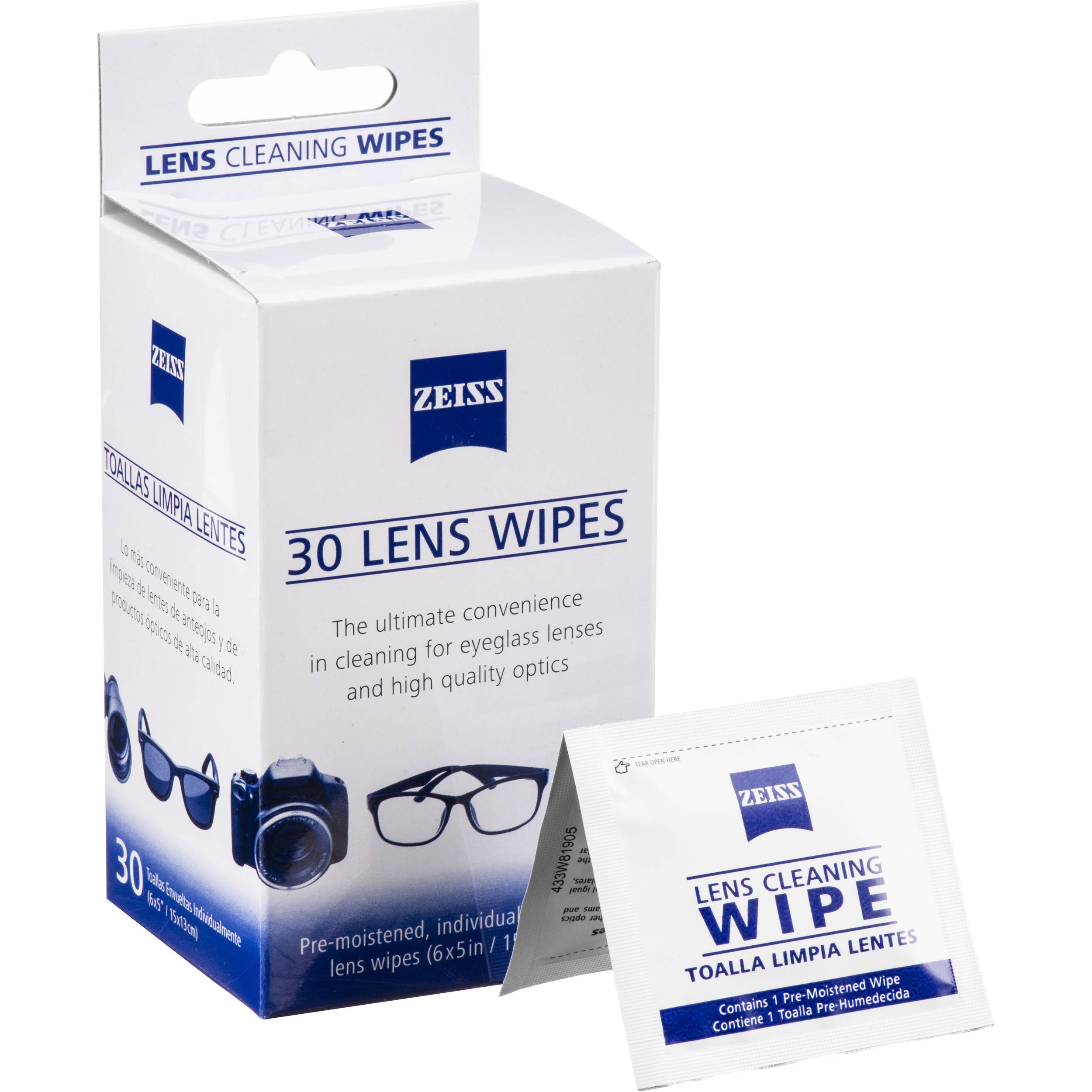 Zeiss Lens Wipes Image