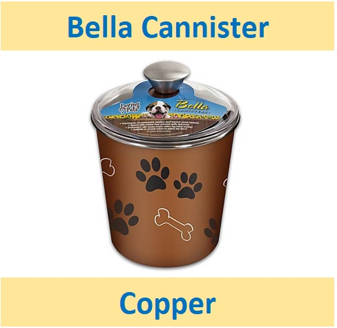 Bella Canister- Copper 2Ltr