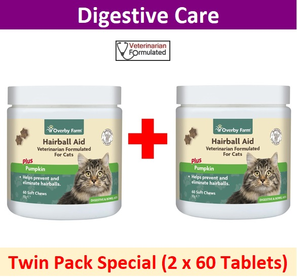 Hairball Aid For Cats Soft Chews 60pcs Image