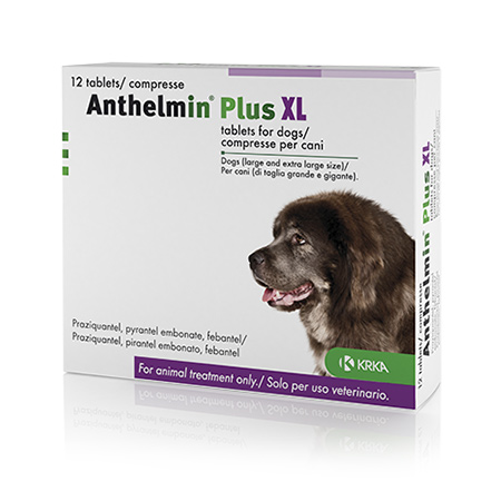 Anthelmin Plus X/L 4 Pack. Image