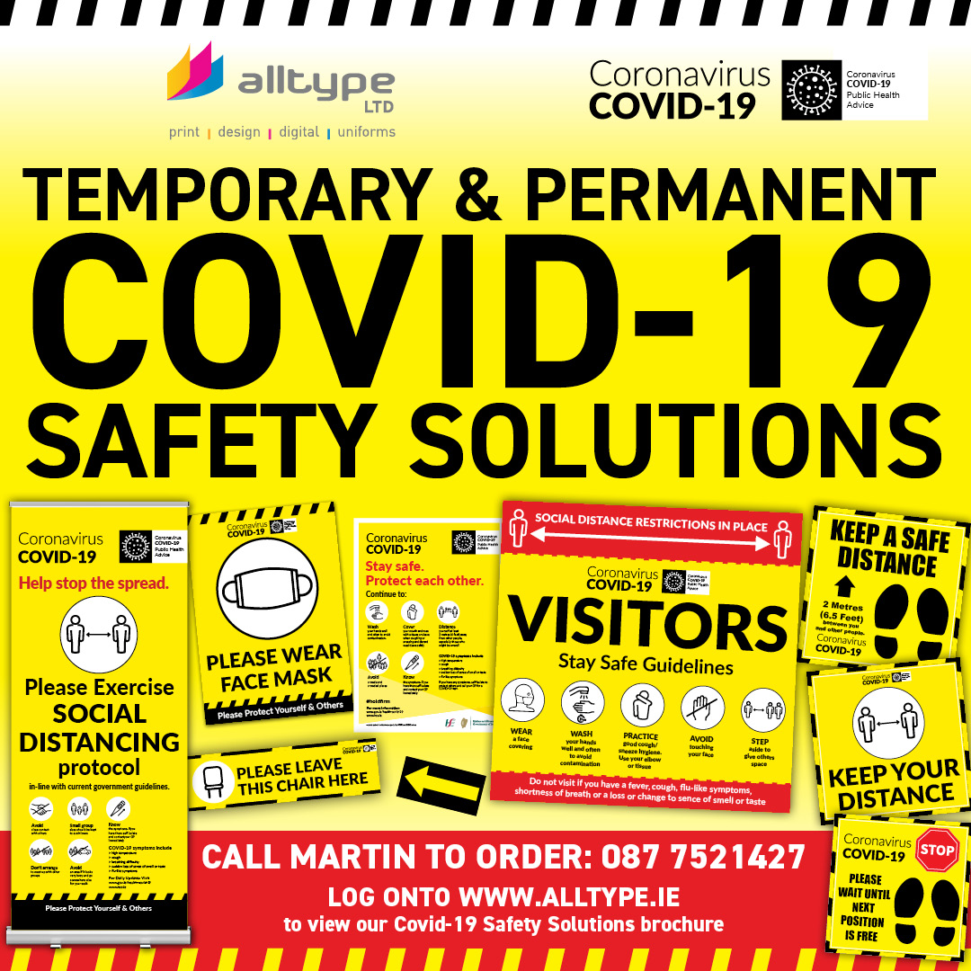 Alltype Ltd Covid-19 Safety Solutions Image