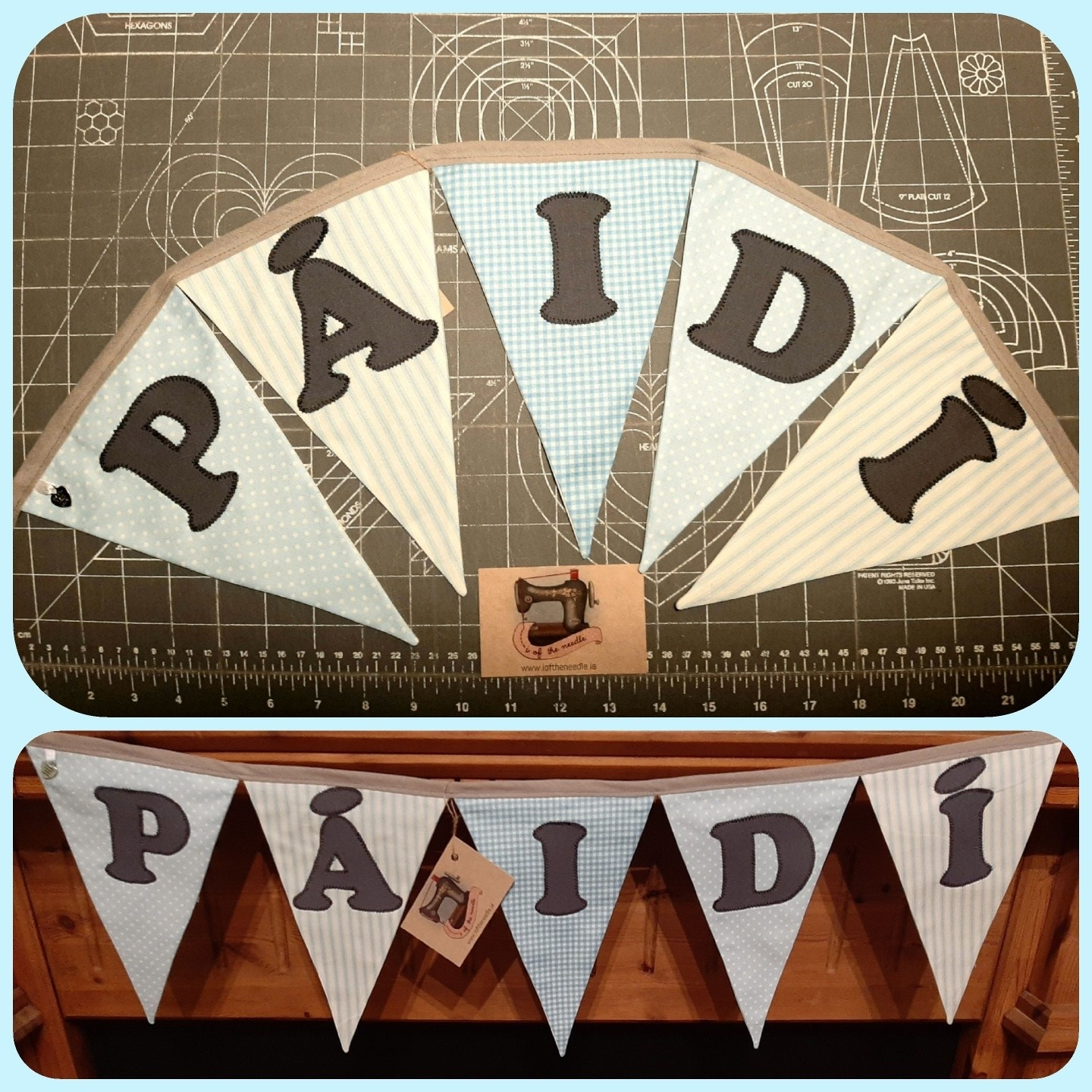 Personalised Bunting PÁIDÍ Image