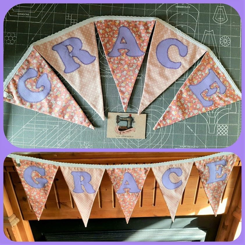 Personalised Bunting GRACE Image