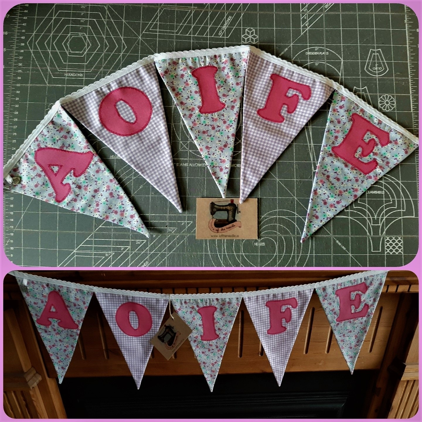 Personalised Bunting AOIFE  Image