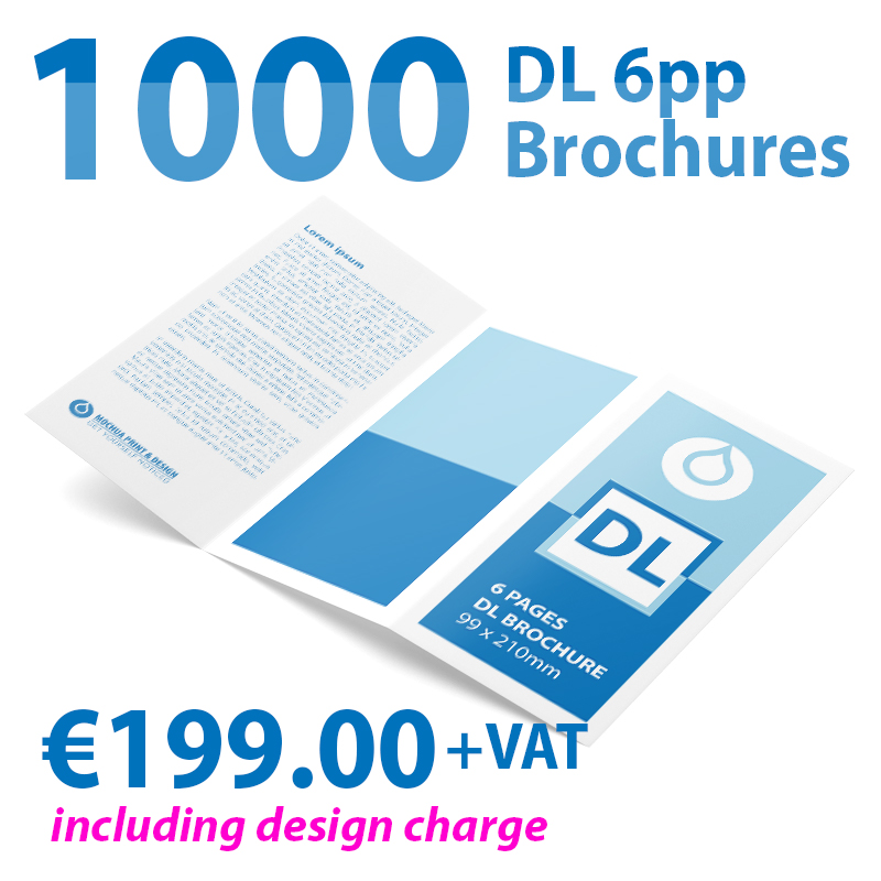 1000 DL 6 Pages Brochures Image