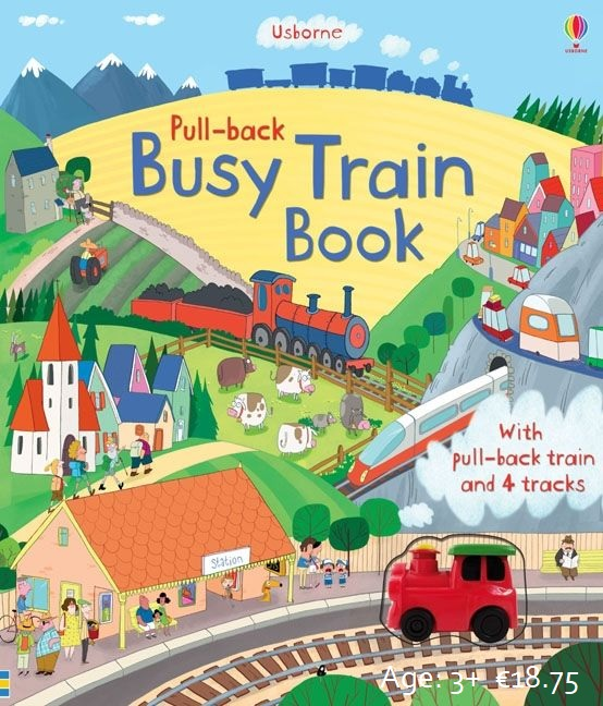Busy Train Book Image