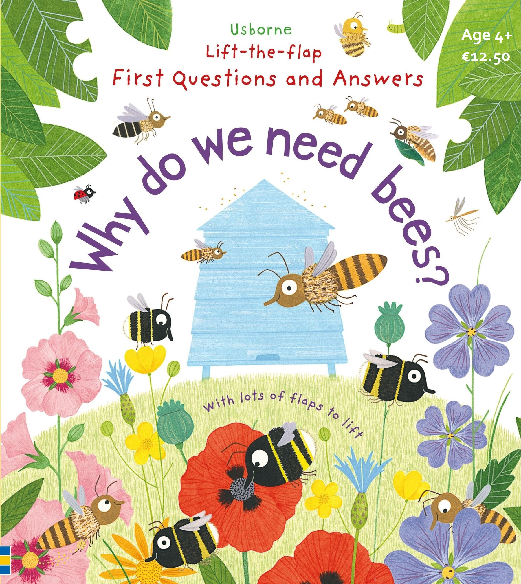 Why do we need bees? Lift-the-Flap First Questions and Answers  Image