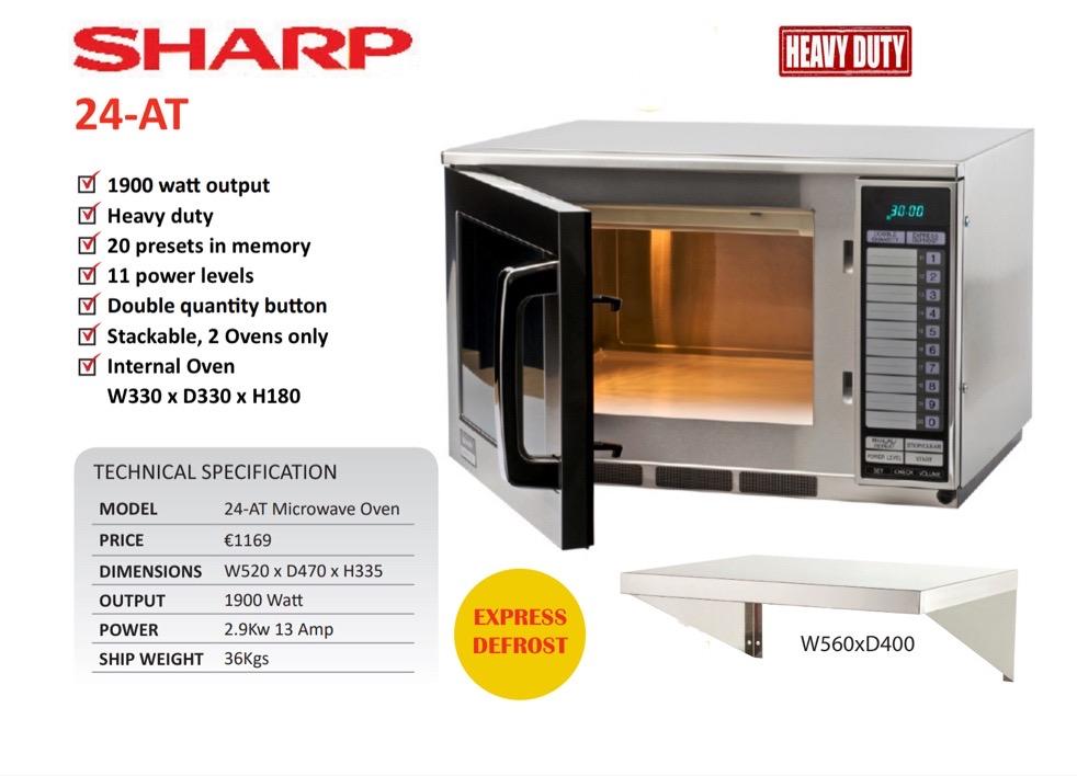 Sharp R24AT Image