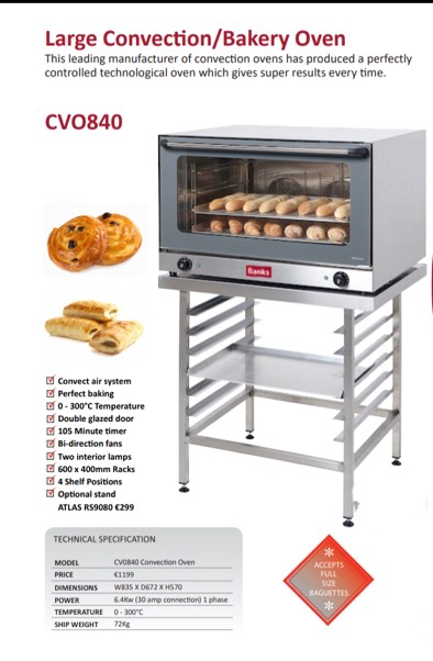 Large convection bakery oven Image