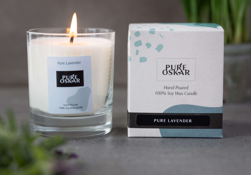 Soy Candle Pure Lavender Image