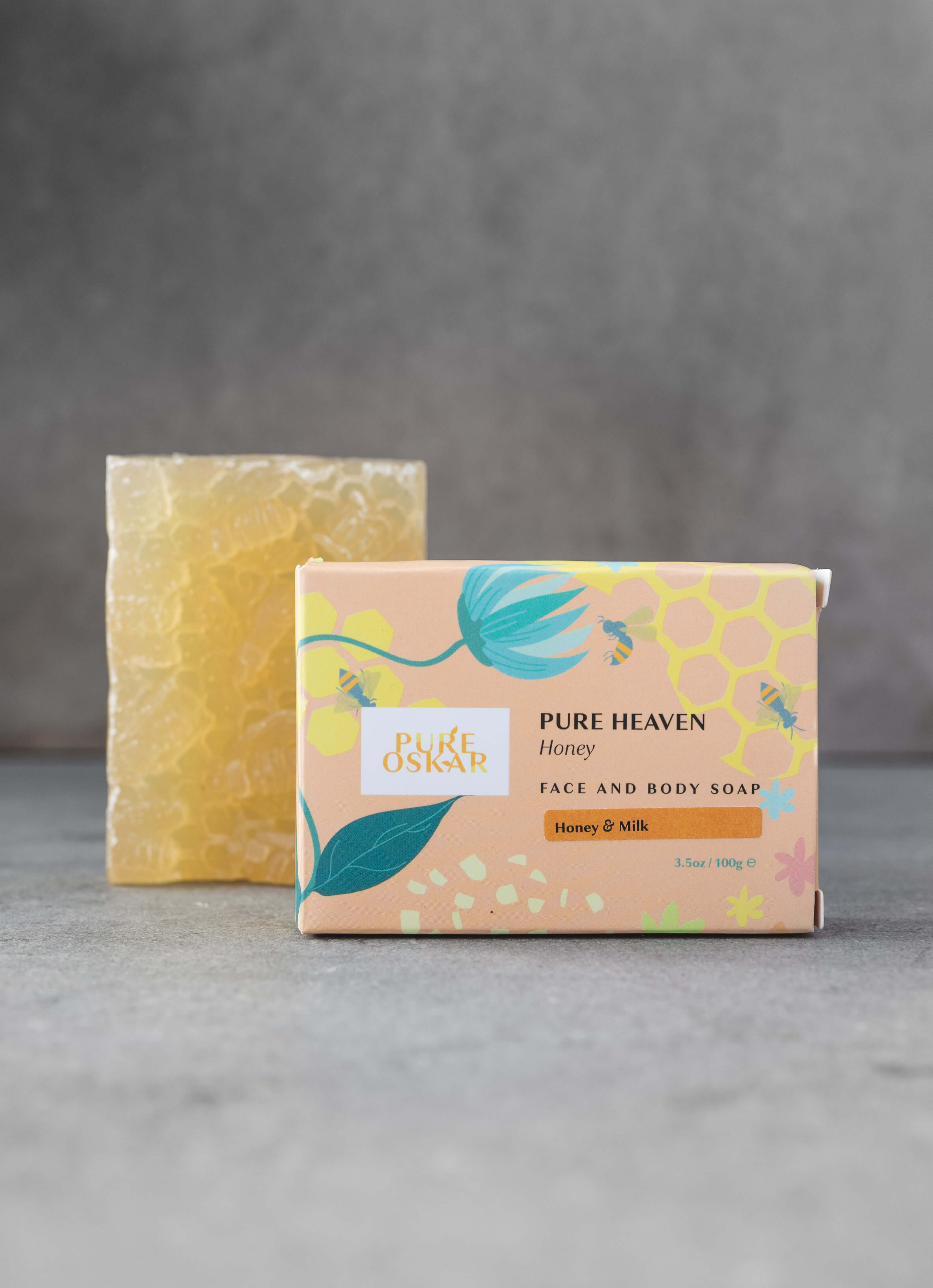 Pure Heaven Honey Soap Image