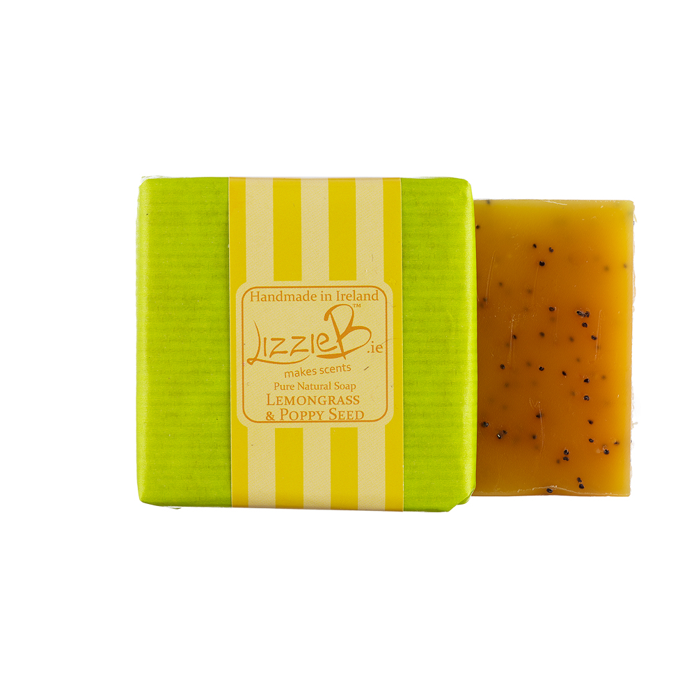 Lemongrass & Poppy Seed Soap Image