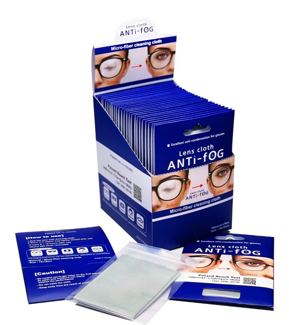 Anti-fog Lens Cloth Image