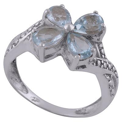 Blue Topaz Ring size 11 Image