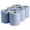 6 Blue Paper Roll Image