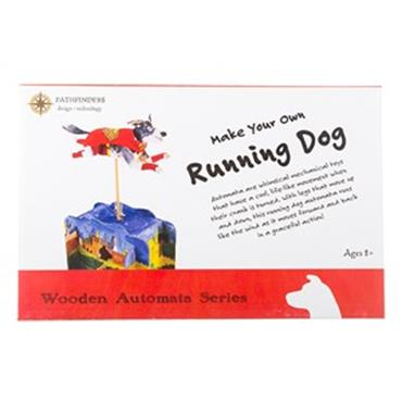 PATHFINDERS RUNNING DOG WOODEN KIT Image