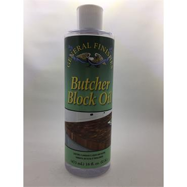 GENERAL FINISHES BUTCHERS BLOCK OIL 473ML Image