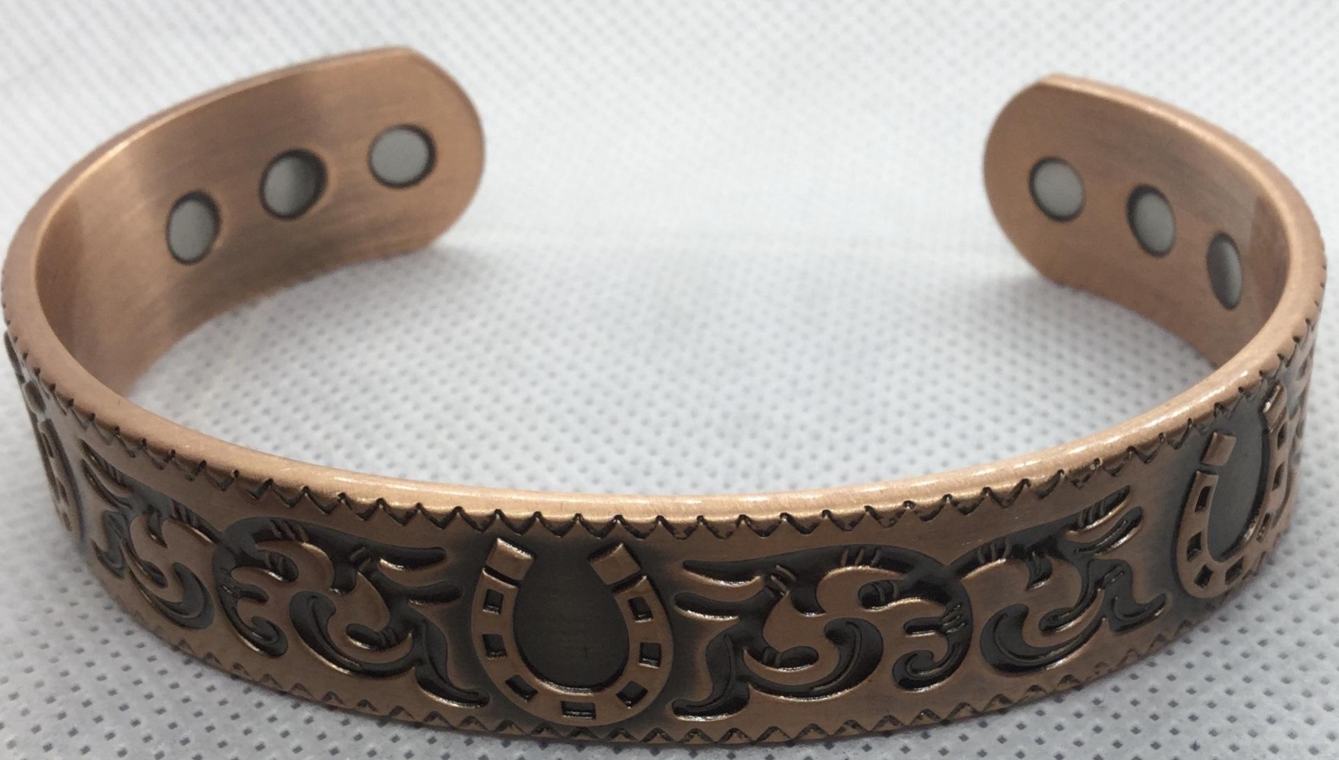 Copper & Magnetic Bangle  Image