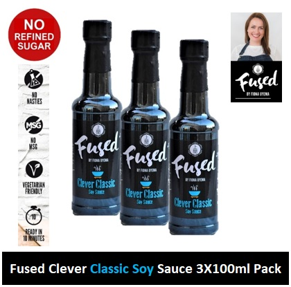 Fused Clever Classic Soy Sauce 150ml 3 PACK Image