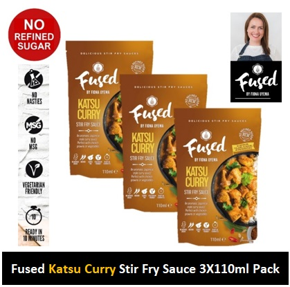 Fused Katsu Curry Fry Sauce 110ml 3 PACK Image