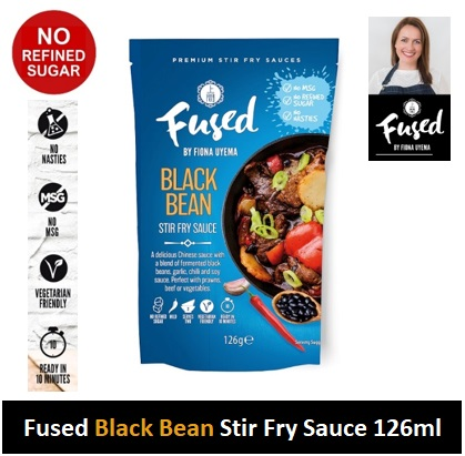 Fused Black Bean Stir Fry Sauce 126g Image