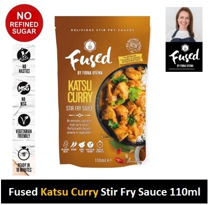 Fused Katsu Curry Fry Sauce 110ml Image