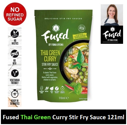 Fused Thai Green Curry Stir Fry Sauce 110ml Image