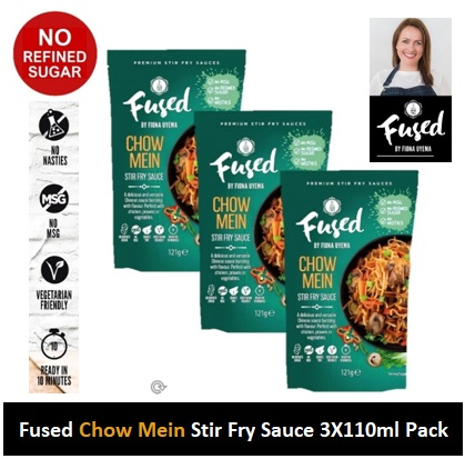 Fused Chow Mein Stir Fry Sauce 121g 3 PACK Image