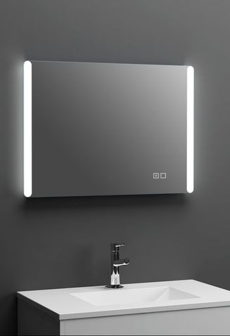 Matrix LED Mirror with Bluetooth Image