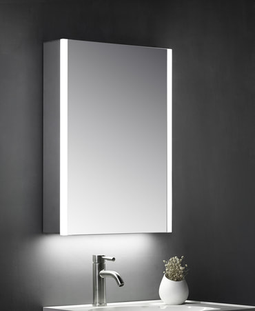 Matrix LED Cabinet Mirror Image