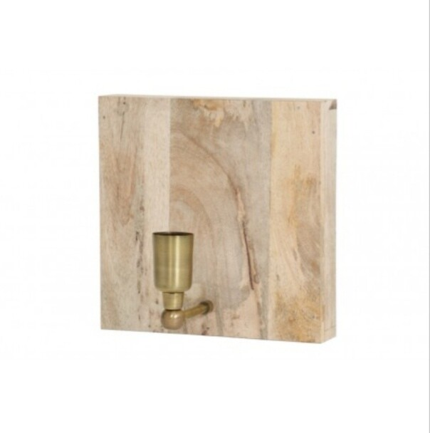 Wooden wall light Image