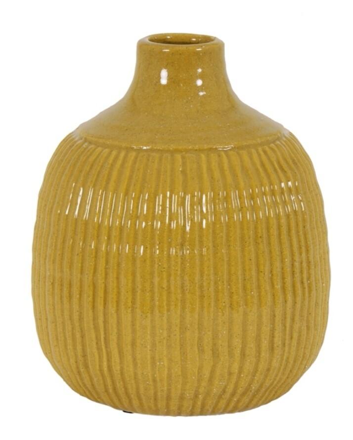 Ocher vase Image