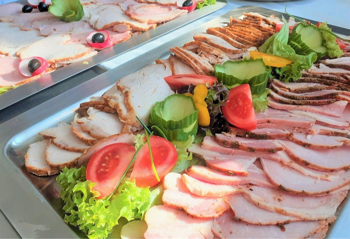 Fresh Home-Roasted Cold Meat Platter, per person Image