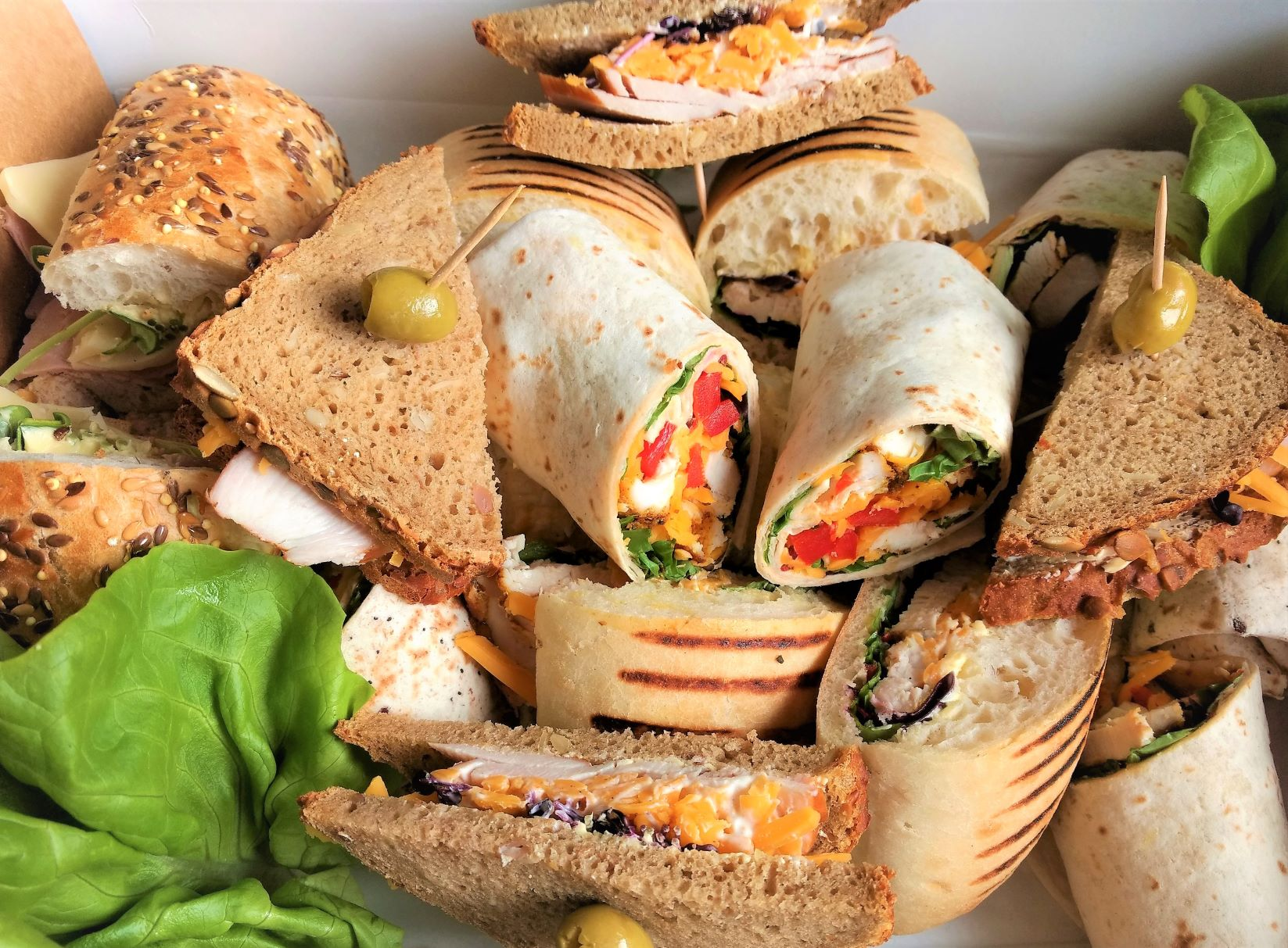 Premium Sandwich Platter, 5 Persons (€25 min. order Naas/Newbridge etc, €100 for rest North-East Kildare) Image