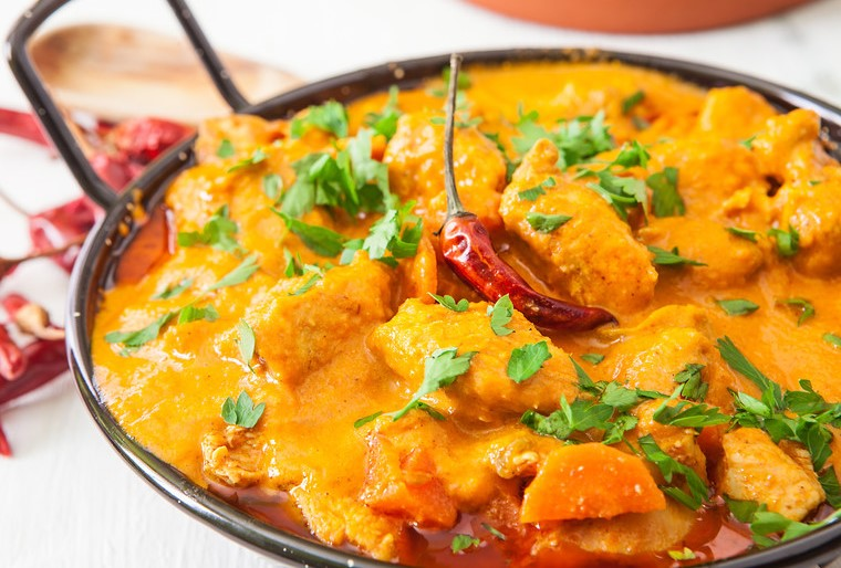 Fresh Chicken Curry with Steamed Basmati Rice, per Person (€25 min. order Naas/Newbridge etc, €100 for rest North-East Kildare) Image