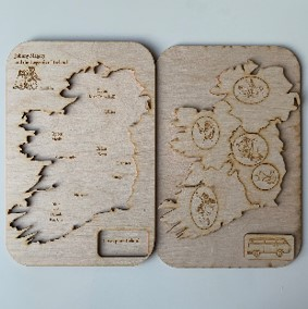 Irish Legends Wooden Puzzle Image