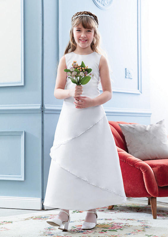 Emmerling 2021 Pure White 2143 Communion Dress Image