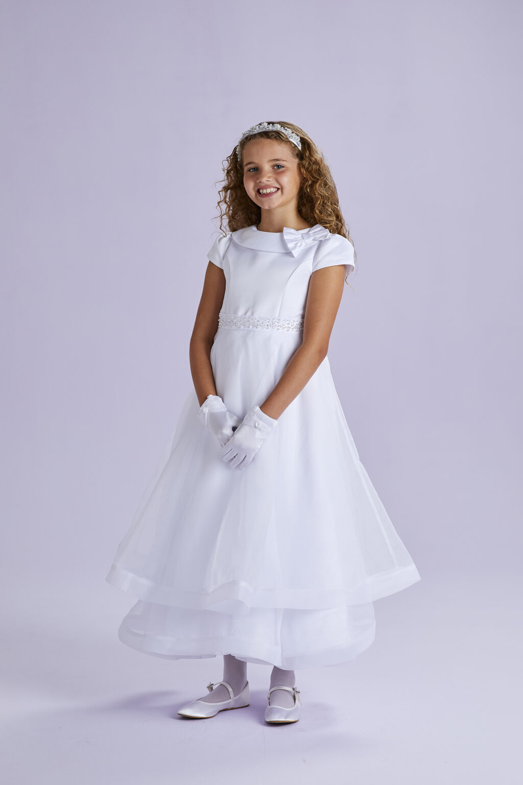 Claudia Communion Dress by Peridot Image