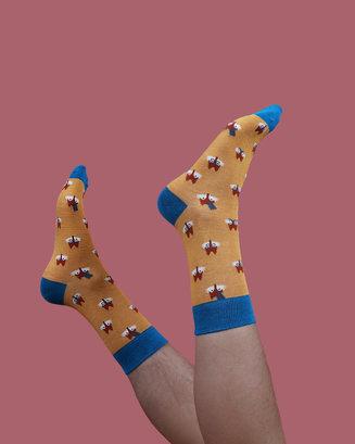 Men's Fox Novelty Socks Image